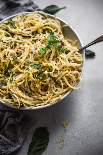 Erin Lynch @platingsandpairings Lemon Pasta