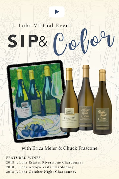 Sip Color Event Poster