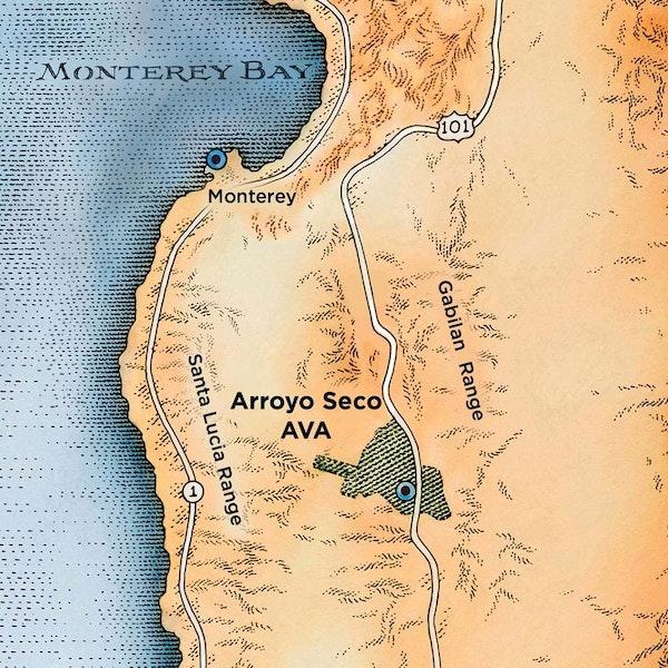 J Lohr Monterey Map