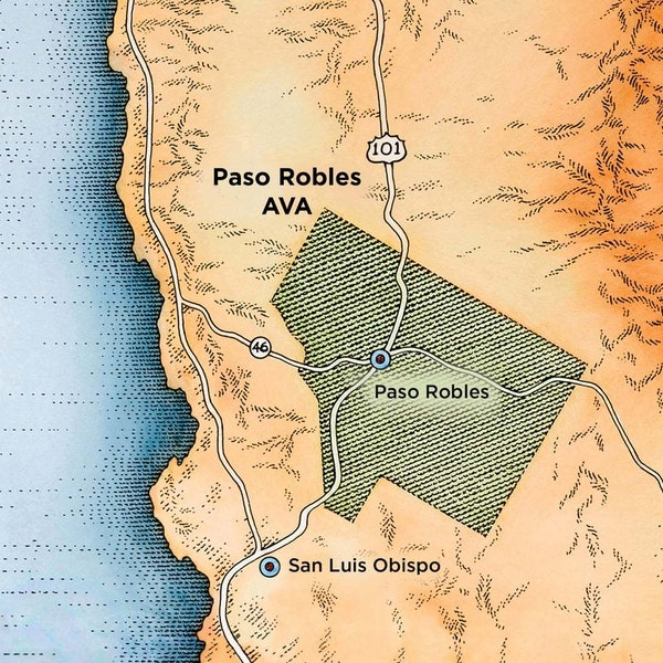 J Lohr Paso Robles Map